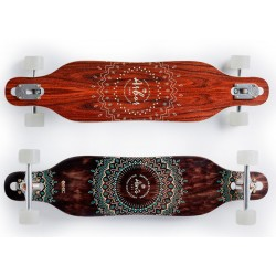 "Arbor Solstice 37"" Axis B4BC complete longboard"