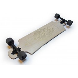 """Landyachtz Drop Hammer White Oak White Oak 36.5"""" longboard completo"""