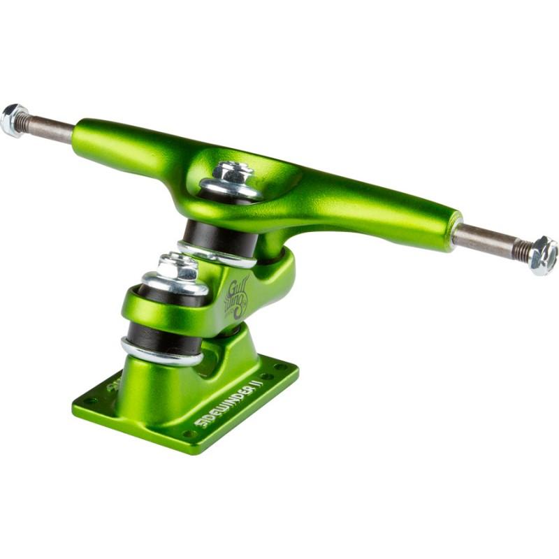 "Gullwing Sidewinder II trucks 9"" green (set)"