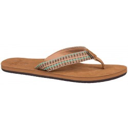 Reef Gypsylove slippers female tan/multi