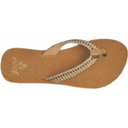Reef Gypsylove slippers female tan/multi