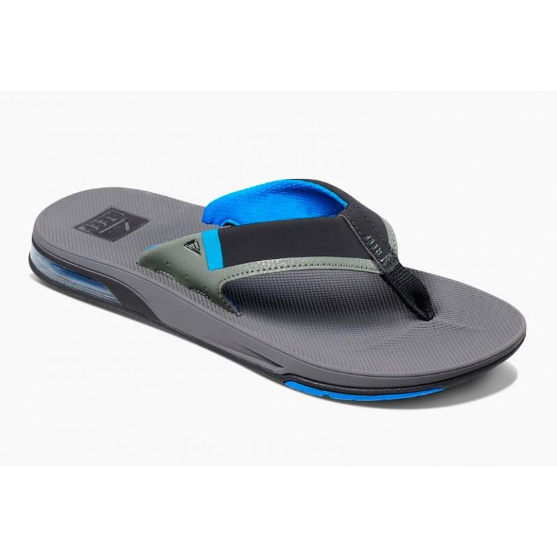 Reef Fanning Low slippers blue grey