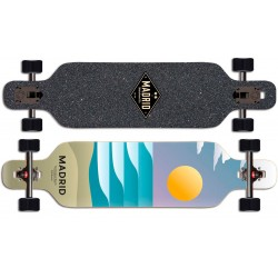 "Madrid Spade Drop Through Sol 40"" complete longboard"
