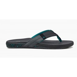 Reef Cushion Phantom slippers zwart-groen