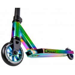 Chilli Rocky Base stunt scooter neon-chroom