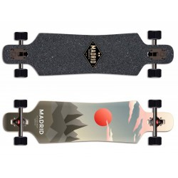 "Madrid Spade Drop Through Luna 39"" complete longboard"