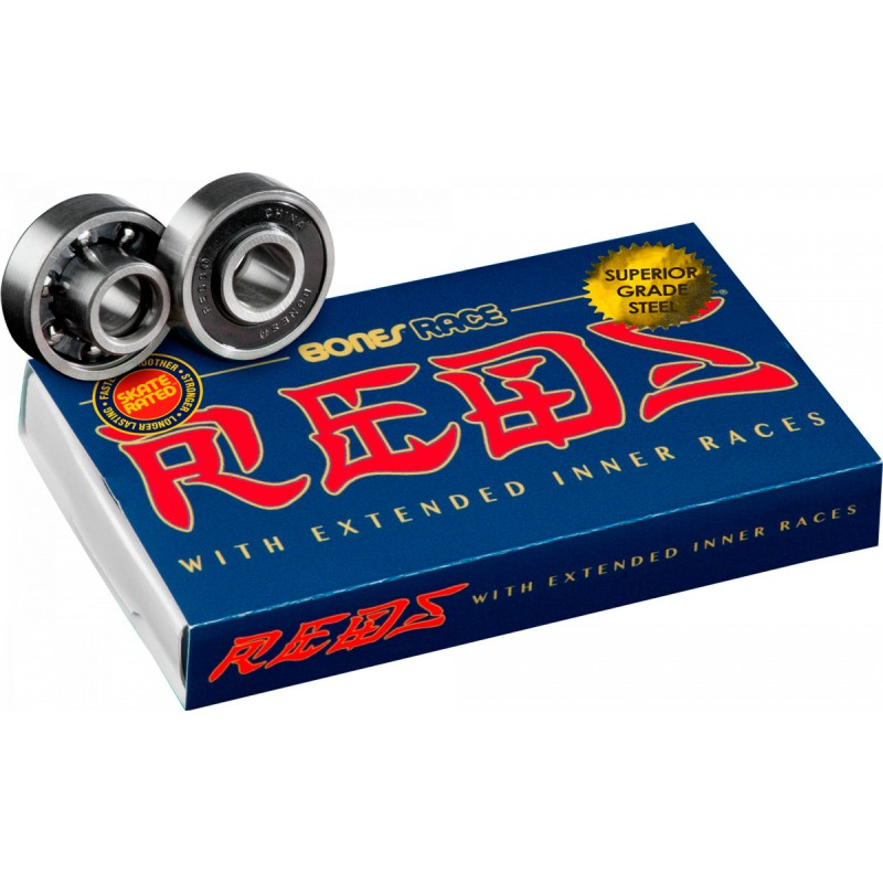 Bones Race Reds Skateboard roulements 8 pack