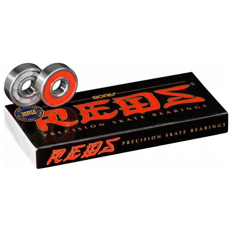 Bones Reds Roulements 8x608 (pack de 8)