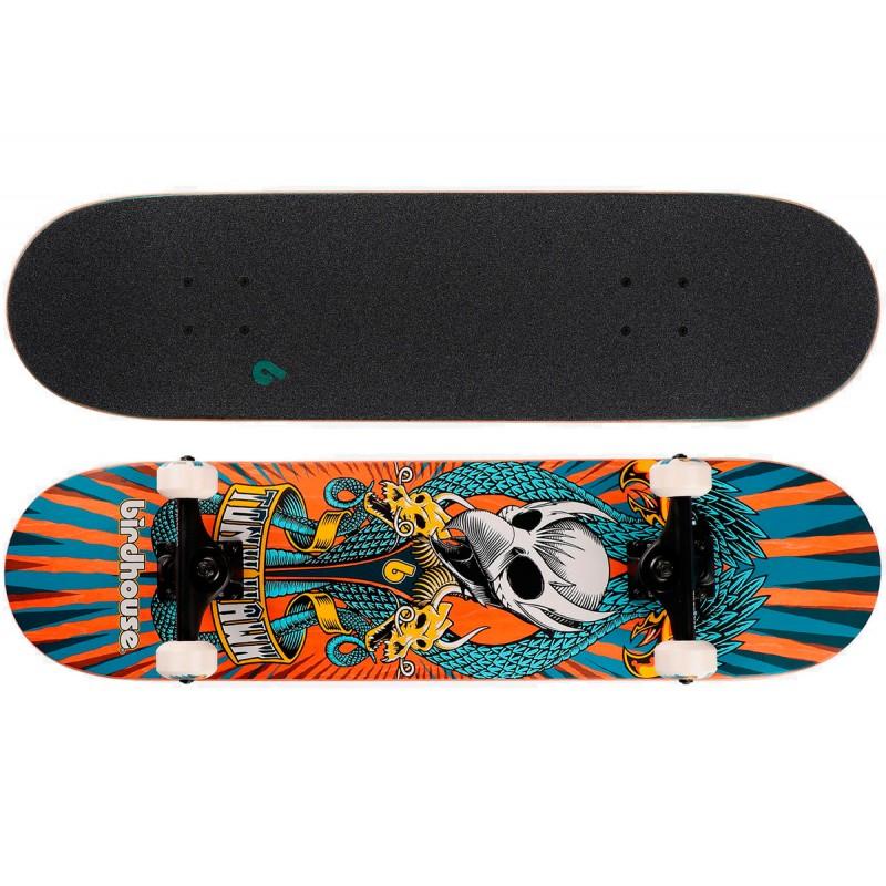 "Birdhouse Stage 3 Emblem circus 7.75"" skateboard arancia"