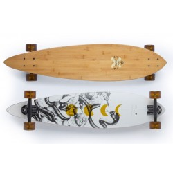 "Arbor Fish bamboo 37"" complete longboard"