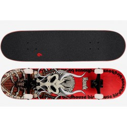 "Birdhouse Stage 3 Hawk Gladiator 8.125"" skateboard red"