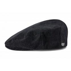 Brixton Hooligan Snap cap casquette noir-velours côtelé