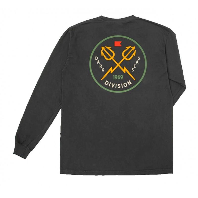 Dark Seas Saigon T-shirt Long sleeve black