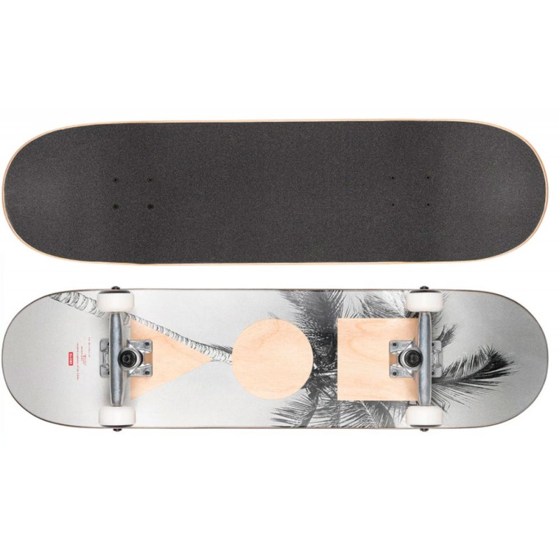 "Globe G1 Stack 8.0"" skateboard complete lone palm"
