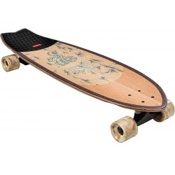 "Globe Chromantic 33.1"" white oak/jaguar complete longboard cruiser"