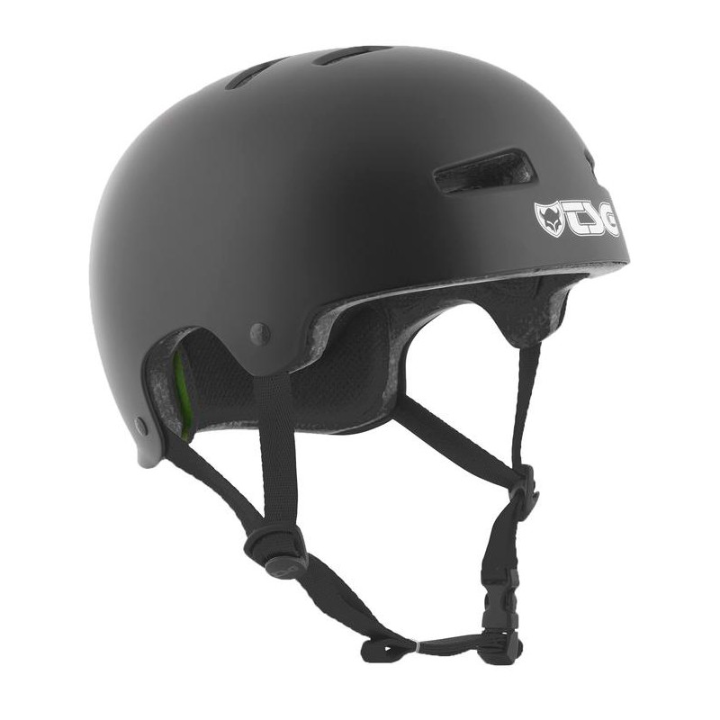 TSG Evolution skate helmet satin black