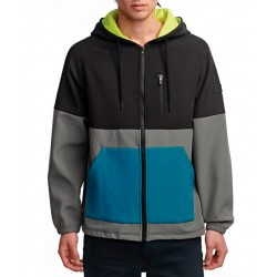 Globe Hazard hooded jacket steel