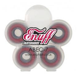 Enuff Abec 7 skate / longboard bearings  (8 pack)