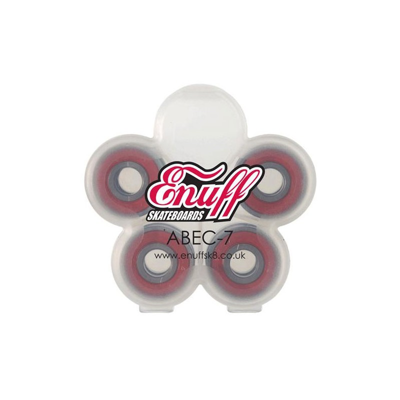 Enuff Abec 7 roulements de skate / longboard (pack de 8)