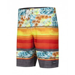 O'Neill Hyperfreak Ambition boardshort red aop