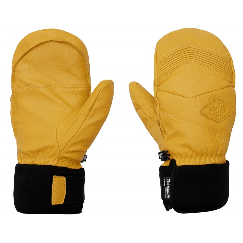 Picture Mc Pherson leather mittens 10K  yellow
