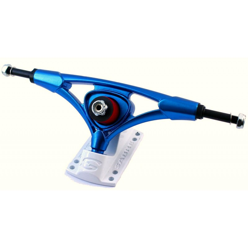 Sabre Cast Precision trucks 180 mm blue white