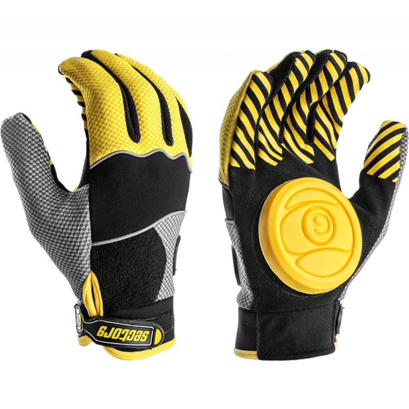 Sector 9 Apex slide gloves yellow