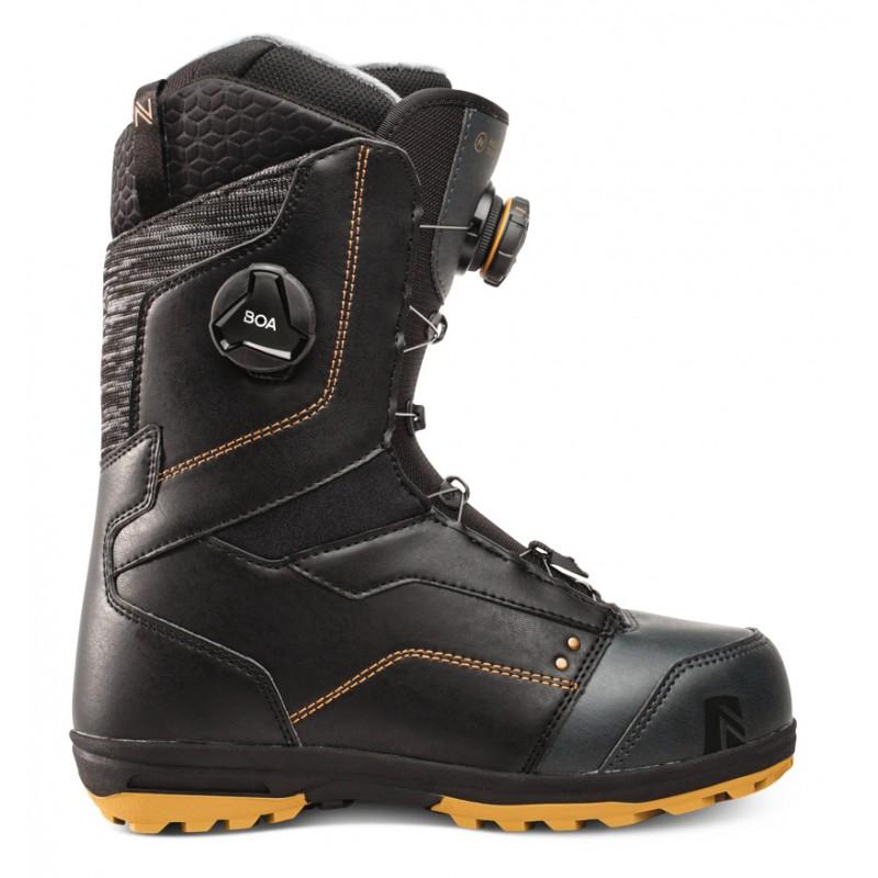 Nidecker Trinity BOA focus female snowboard boots black 2021