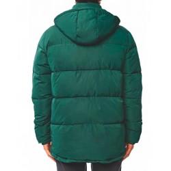 Globe Ignite puffer jacket green rear