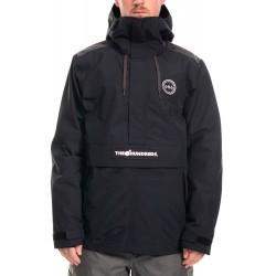 686 The Hundreds GoreTex anorak snowboard jacket black