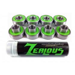 Zealous precision skate bearings (8 pack)